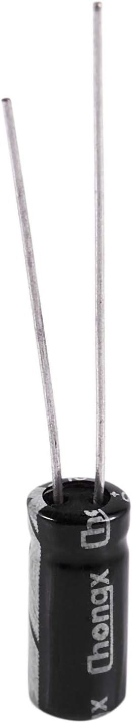 Vaorwne 10 x 220uF 10V 105C Condensateur electrolytique radial 5x11mm