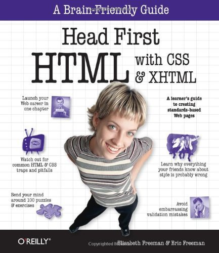 Head First HTML with CSS & XHTML by O'Reilly Media