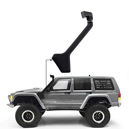 Rubber Safari Snorkel for 1//10 Scale Jeep Cherokee  Truck RC Cars