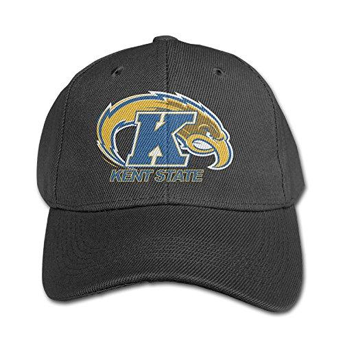 WG Custom Unique Casual Kent State University Golden Flashes Hiphop Hats Black
