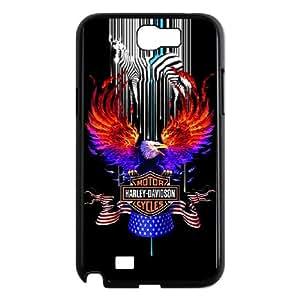 Samsung Galaxy N2 7100 Cell Phone Case Black Harley Davidson S0396668