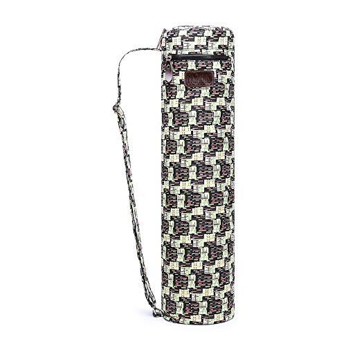 - Fremous Yoga Mat Bag,Full-Zip Exercise Yoga Mat Carry Bag for Women and Men - Double Storage Pocket,Easy Access Zipper, Adjustable Shoulder Strap and Handle,Fits Most Mats (Matrix)