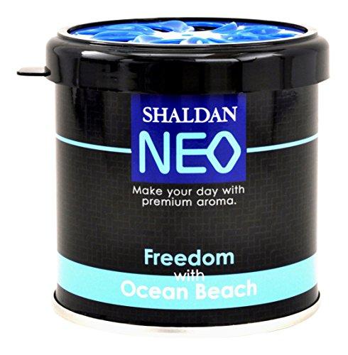 My Shaldan Neo Freedom with Ocean Beach Air Freshener for Car (80 g)