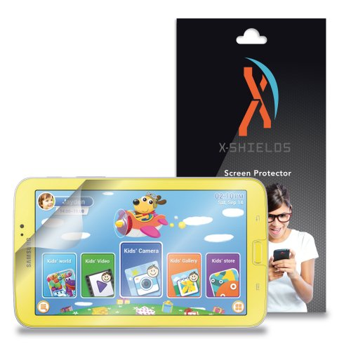 """XShields© (5-Pack) Tablet Screen Protectors for Samsung Galaxy Tab 3 Kids 7.0"""" (Ultra Clear)"""