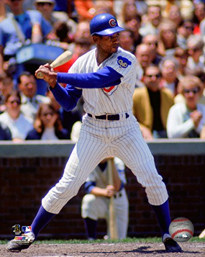 Ernie Banks Chicago Cubs MLB Action Photo Size: 8 x 10