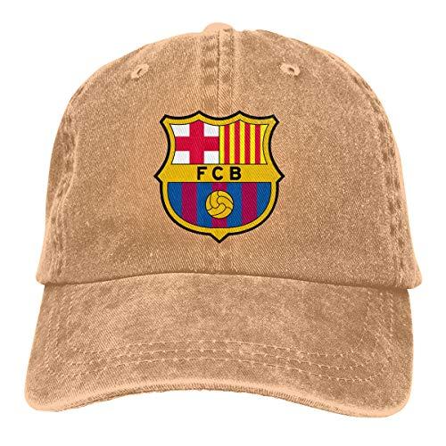 ZMBDC Adult Barcelona Jeans Caps,Fashion Quick Drying Adjustable Baseball Hat -