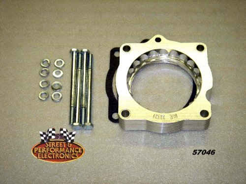 Street and Performance 57046 HelixPower Tower Plus Throttle Body Spacer Street and Performance Electronics