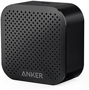 Anker SoundCore nano Bluetooth Speaker with Big Sound, Super-Portable Wireless Speaker with Built-in Mic for iPhone 7, iPad, Samsung, Nexus, HTC, Laptops and More