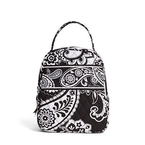 Vera Bradley Women's Lunch Bunch Midnight Paisley Lunch Bag