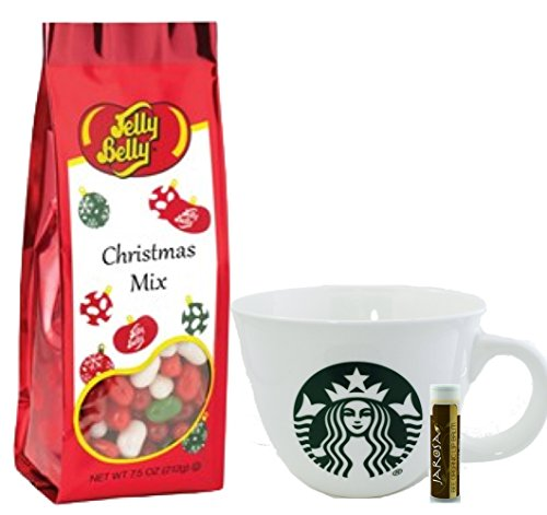 starbucks-logo-mug-14-floz-jelly-belly-christmas-mix-jelly-beans-gift-bag-75-oz-with-a-jarosa-bee-or