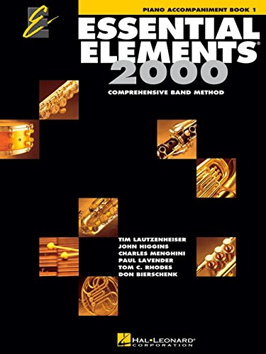 Essential Bands (Hal Leonard Essential Elements 2000 for Band - Piano Accompaniment (Book 1))