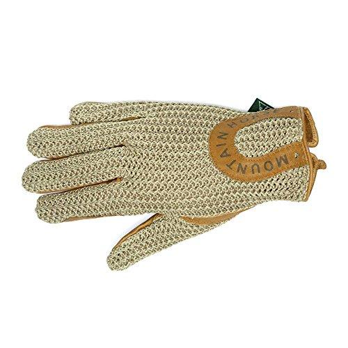 Mountain Horse Crochet Adult Blue Gloves RXR8r1q