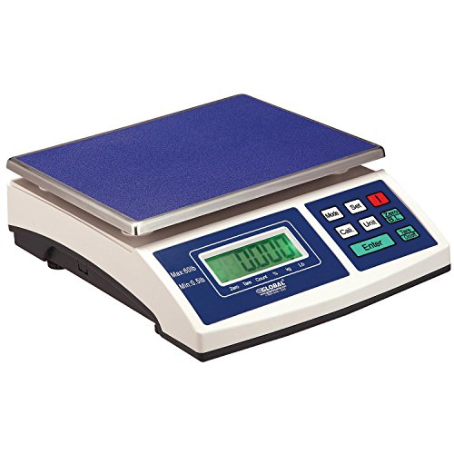 Electronic Scale, 60 Lb Capacity, 0.005 Lb Readability by Global Industrial