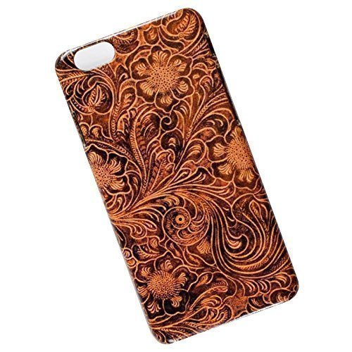 online retailer bf687 5e85e Slim Phone Case for iPhone 6, 6s. Tooled Leather Look.