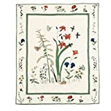 Patch Magic 50-Inch by 60-Inch Wildflower Throw