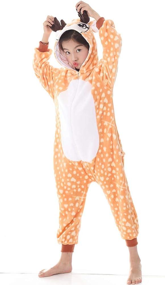yolsun Kids Onesie Animal Pajamas Cute Chrismas Costume Cosplay for Boys/&Girls