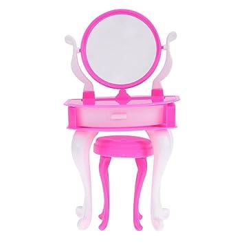 Amazon.es: RLFS Juego de sillones de tocador en Miniatura ...