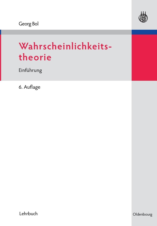 Wahrscheinlichkeitstheorie: Einführung
