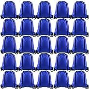 TUPARKA 25Pcs Drawstring Backpack Bulk Drawstring Bags String Backpack Cinch Gym Backpack for Gym Sport Travel