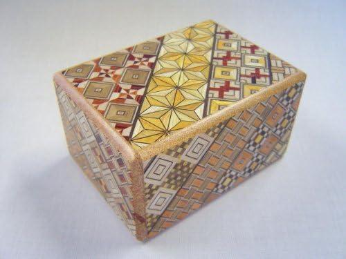 Caja secreta japonesa koyosegi, 3 SUN, 7 pasos para abrirla ...