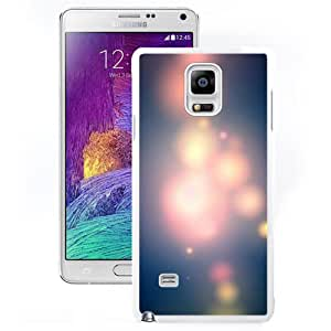 New Beautiful Custom Designed Cover Case For Samsung Galaxy Note 4 N910A N910T N910P N910V N910R4 With Ios8 Blurry Neon Light Lockscreen (2) Phone Case