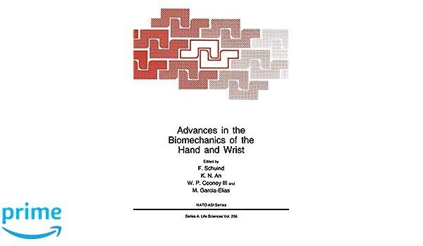 Advances in the Biomechanics of the Hand and Wrist (Nato