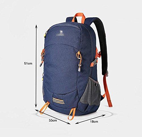 HWLXBB Outdoor Bergsteigen Tasche 30L Wasserdichte Camping Tourismus Bergsteigen Rucksack Männer und Frauen Walking Bergsteigen Tasche ( Farbe : 2* )