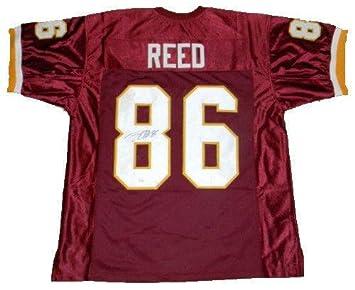 9e55a3ae1c8 Jordan Reed Autographed Jersey - #86 - JSA Certified - Autographed NFL  Jerseys