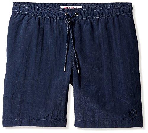 Mr. Swim Men's 7.5 Dale Elastic Shorts, Shimmer Blue, 34