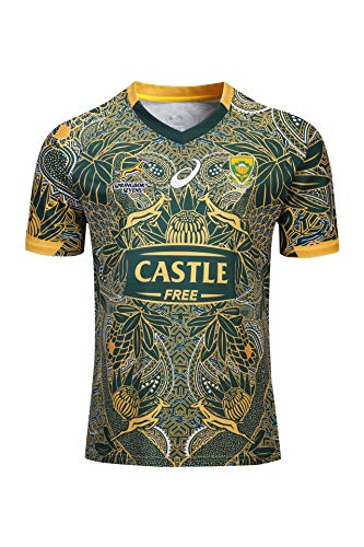 WWJIE Breathable South Africa 100th Anniversary Edition Football Jersey-S