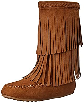 Amazon.com | Rampage Britt Fringe Boot (Little Kid/Big Kid) | Boots