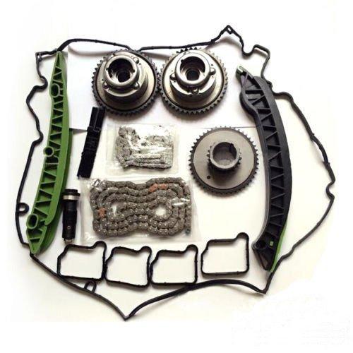 Auceramic Timing Chain Kit Camshaft Adjuster for Mercedes M271 1.8L C250 E250 SLK250