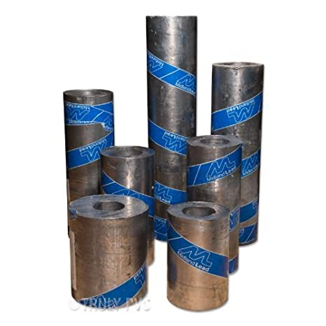Code 4 Lead Roll - Midland Lead 150x6m - Lead sheet, a durable material that lasts over 100 years, provides excellent weatherproofing, for various roofing projects
