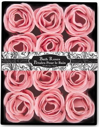 12-Floral-Scented-Bath-Soap-Decor-Rose-Petal-Flowers-Fresh-Energizing