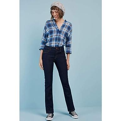 90d668954 Calça Jeans Reta Amaciada: Amazon.com.br: Amazon Moda