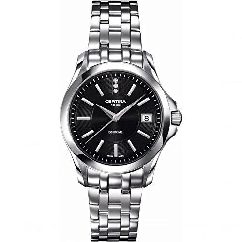 Certina C004.210.11.056.00 - Reloj para mujeres, correa de acero inoxidable color plateado: Amazon.es: Relojes