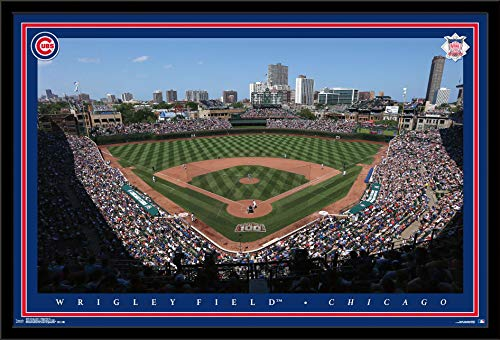 (Trends International Chicago Cubs - Wrigley Field Wall Poster, 24.25