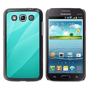 Be Good Phone Accessory // Dura Cáscara cubierta Protectora Caso Carcasa Funda de Protección para Samsung Galaxy Win I8550 I8552 Grand Quattro // Green Leaves Pattern