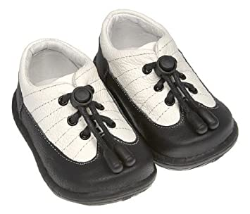Pedoodles 117 Next Steps Collection The Tuxedo Shoes Black White Size Large