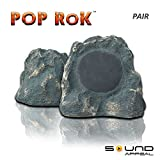 Outdoor Rock Speakers Grey Slate 8.0