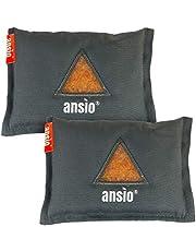 ANSIO Auto luchtontvochtiger herbruikbare vochtabsorberende zak, Automotive luchtontvochtiger verwijdert condensatie en schimmel - 2-pack