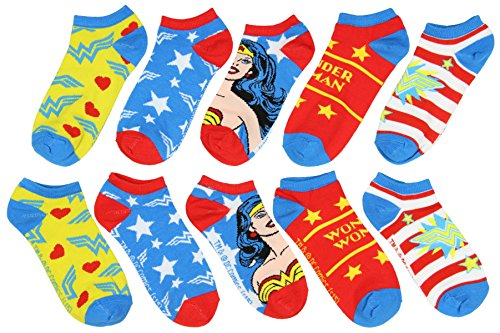 DC Comics Wonder Woman 5 Pack Ankle (Anime Wonder Woman)