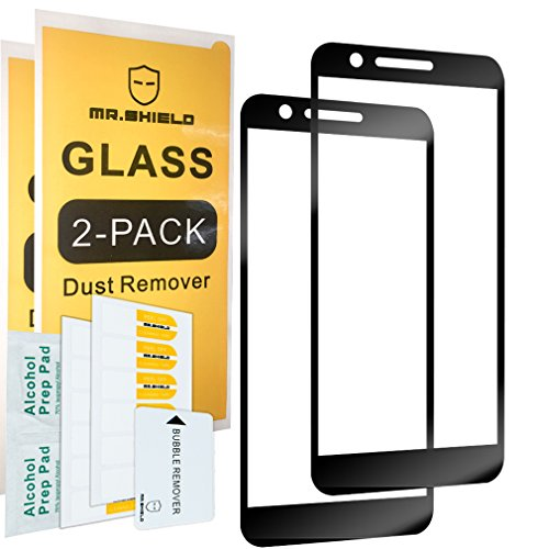 [2-Pack]-Mr.Shield for LG K30 [Japan Tempered Glass] [9H Hardness] [Full Cover] Screen Protector with Lifetime Replacement