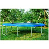 13' FT 6U Legs Round Trampoline with Cover Pad Frame, Jumping Mat T013