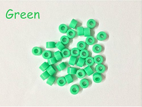 50 Pcs Small Type Dental Hygienist Silicone Instrument Color Code Rings -Green 51qPPZB8cUL