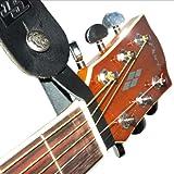 Fretfunk® Acoustic Guitar Strap Button (Black)