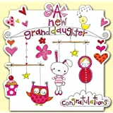 New Granddaughter Baby Card