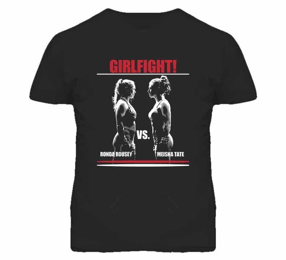 Tshirt Bandits S Ronda Rousey Vs Meisha Tate T Shirt