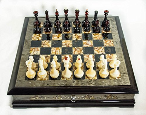Luxury Handcrafted Chess Set by