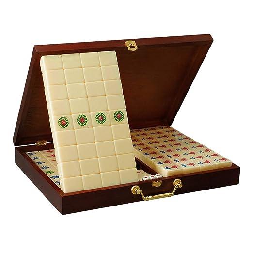 Juegos de Mesa Mahjong Hand Rub Mahjong Marca Casa Acrílico ...